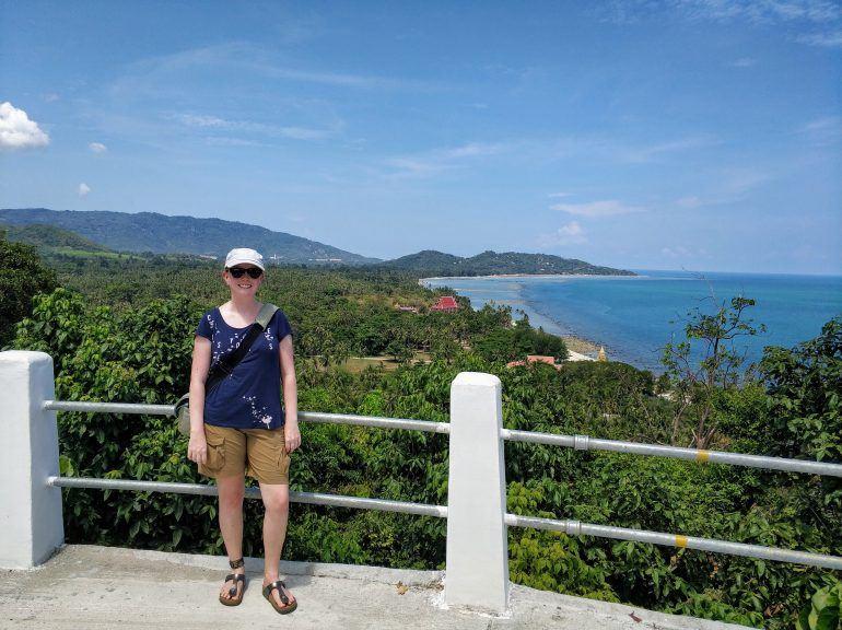Aussicht bei Wat Chao Chedi Koh Samui
