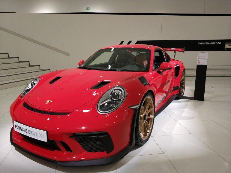 Porsche im Porsche Museum Stuttgart
