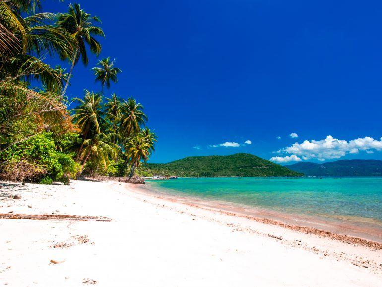 Bucht auf Koh Tan Thailand