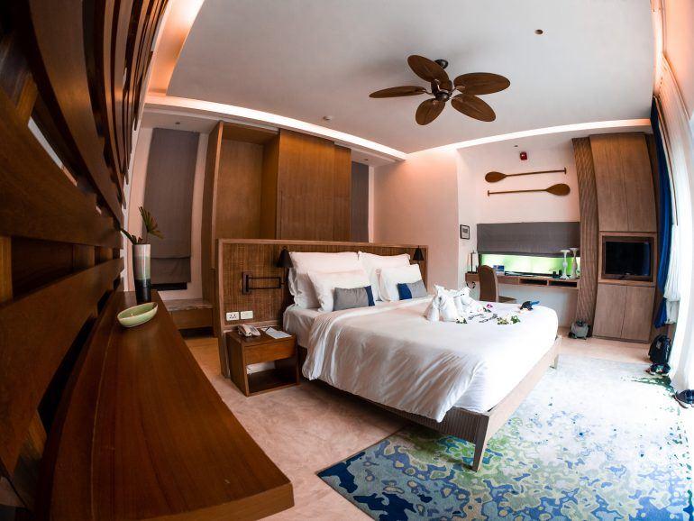Hotelzimmer Outrigger Beach Resort Koh Samui Thailand