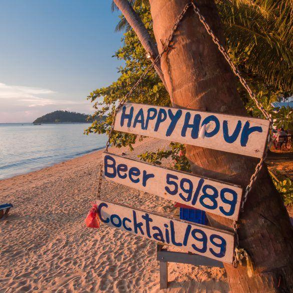 Sonnenuntergang Koh Samui Thailand