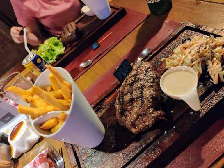 Steak auf Koh Samui Thailand