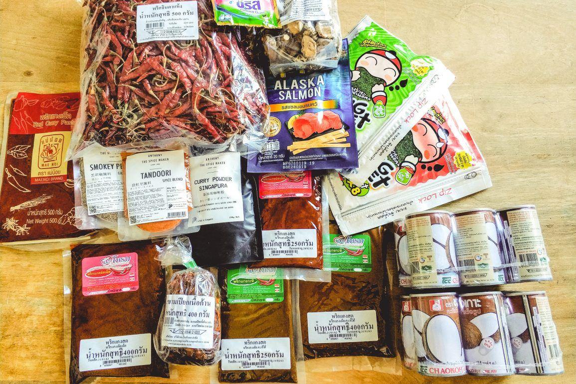 Einkäufe in Thailand