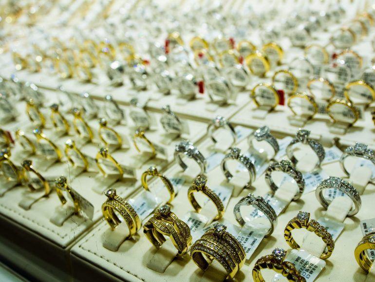 Gold auf Gold Souk in Dubai