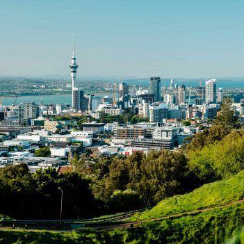 Blick über Auckland Neuseeland