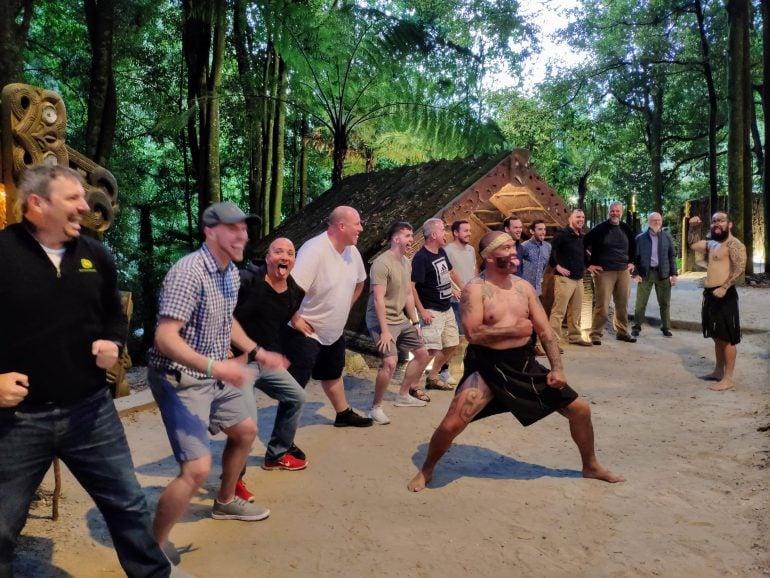 Maori Erlebnis in Rotorua Neuseeland
