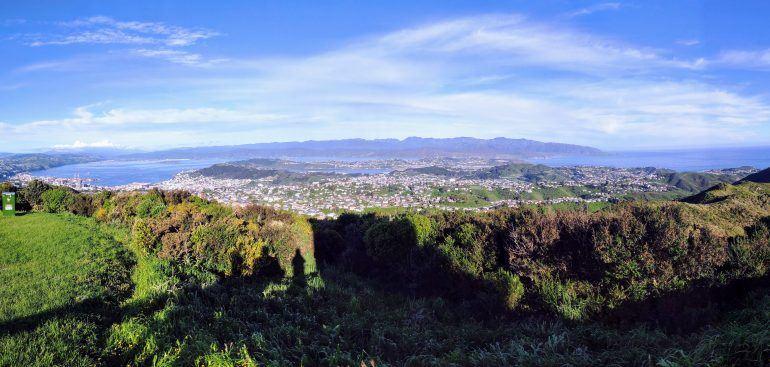 Panorama Wellington Neuseeland
