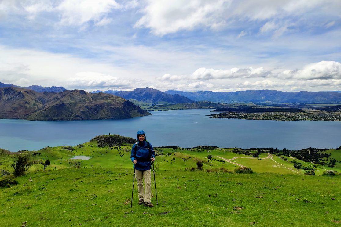 Wanderung Roy's Peak Neuseeland