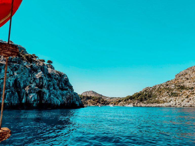 Monachus Cruises Rhodos Anthony Quinn Bay
