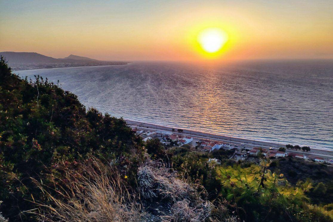 Westküste Rhodos Griechenland
