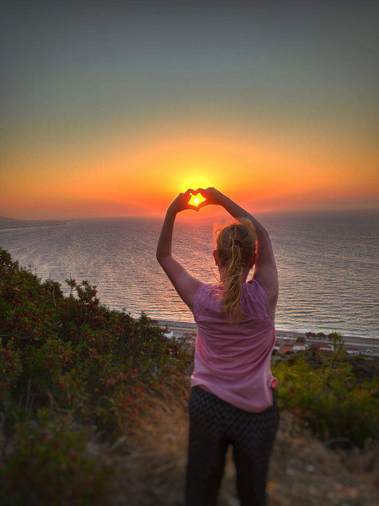 Sonnenuntergang Rhodos Griechenland